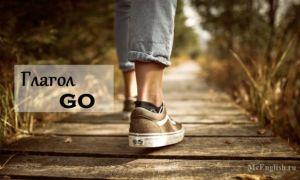 Глагол Go: перевод на русский, 3 формы глагола go, спряжение, использование в прошедшем времени