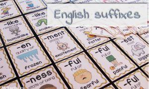 Суффиксы в английском языке: суффиксы прилагательных, существительных, глаголов — правила и примеры