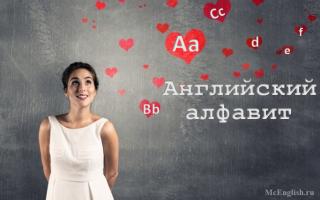 Знакомство с алфавитом английского языка (English alphabet): слушаем и запоминаем