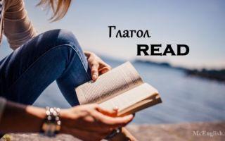 Глагол Read в английском языке: 3 формы глагола read, произношение, использование в прошедшем времени