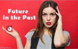 Эта загадочная конструкция Future in the Past: образование и применение