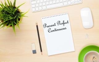 Present Perfect Continuous (настоящее совершенное длительное время в английском языке): образование, употребление, примеры предложений