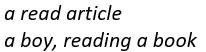 participle чтение